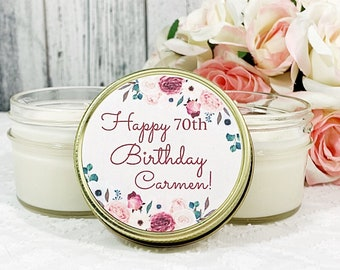 Birthday Party favors - Birthday Party for her - Happy Birthday Favors - Party Candles - Candle Favors Birthday - Adult Birthday party