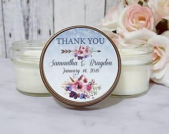 Winter wedding Candle favor - Winter Wedding favor - Wedding favors candles - Winter favors -  Wedding Soy Candles - Candle Favors set of 12