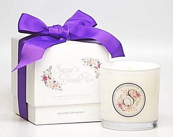 Essential Oil Candle - 11oz Candle - Soy Candle Handmade - Lavender Candle - Candle Gift Soy Candle - Container Candle Scented Soy