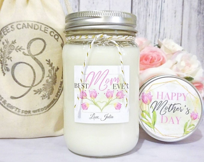 Mothers Day Gift - Mothers Day Candle - Gift For Mom - Mothers Day Gift Ideas - Mom Candle - Soy Candle - 16oz Candle - Candle Gift
