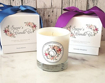 Soy Candle Gift - Birthday Gift for her - Luxury Soy Candle - Candle Gift - Birthday Present - Luxury Gift - Ready To Ship - Scented Candles