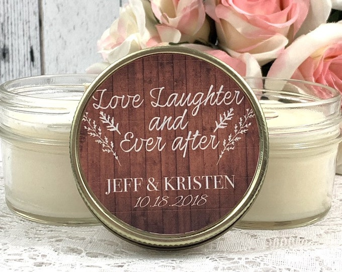 Barn Wedding Favors - Fall Wedding Favors  - Barn wedding  - Rustic wedding Favor - Wedding Candle Favor - Barn favors