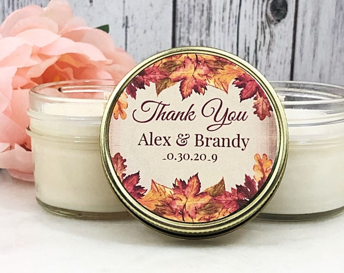 Fall Wedding Favors - Orange Wedding - Fall Wedding Favor - Orange Wedding Favors - Autumn Wedding Favors - Fall Favors