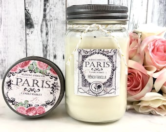 Scented Soy Candles - Soy Candles Handmade - Soy Candles - Hand poured Soy Candles - Scented Candles - 8oz Candle - Candle Gift