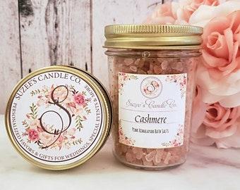 Pink Himalayan Bath Rocks - Bath Salts - Bath Soak - Bath Crystals - Salt Soaks - Essential Oil Salts - Pink Himalayan Salt