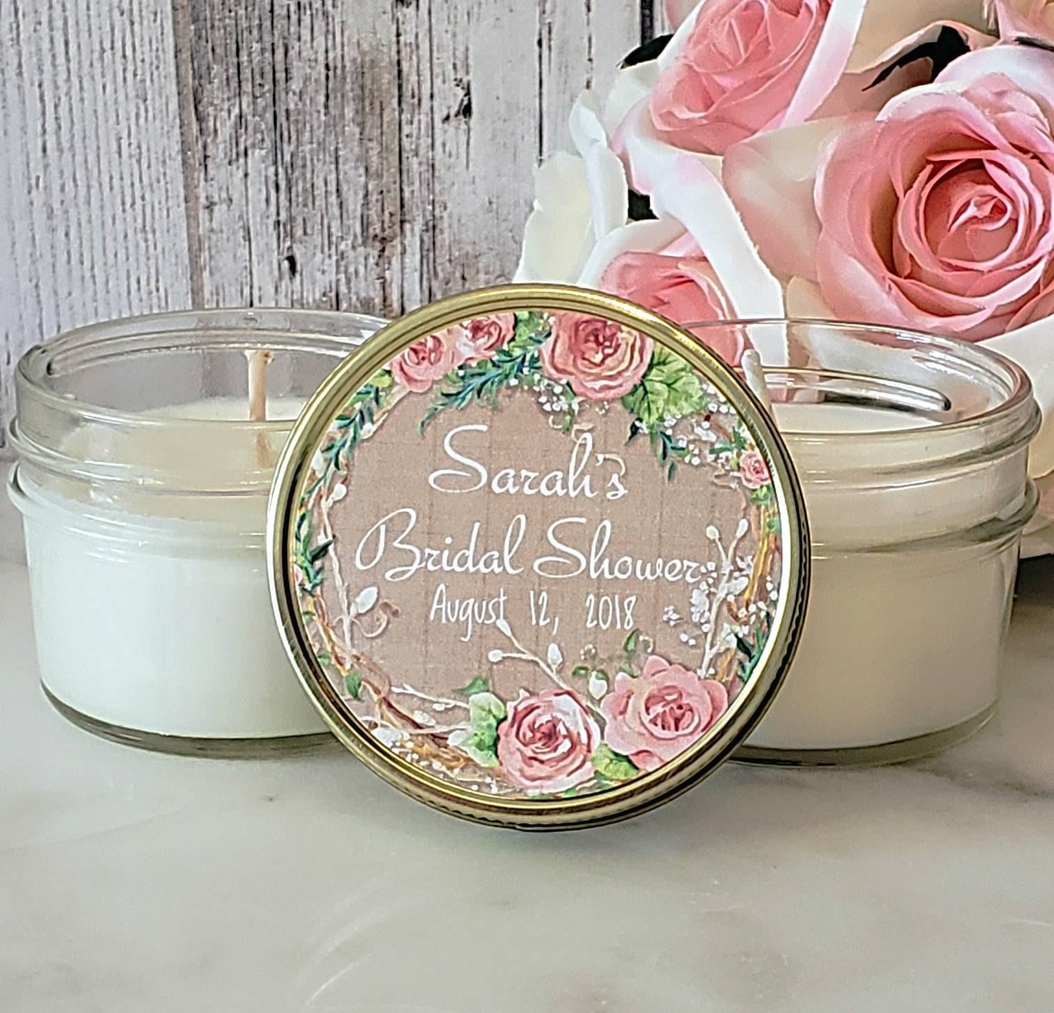 12 Bridal Shower Favors Candles Bridal Shower Candles Bridal