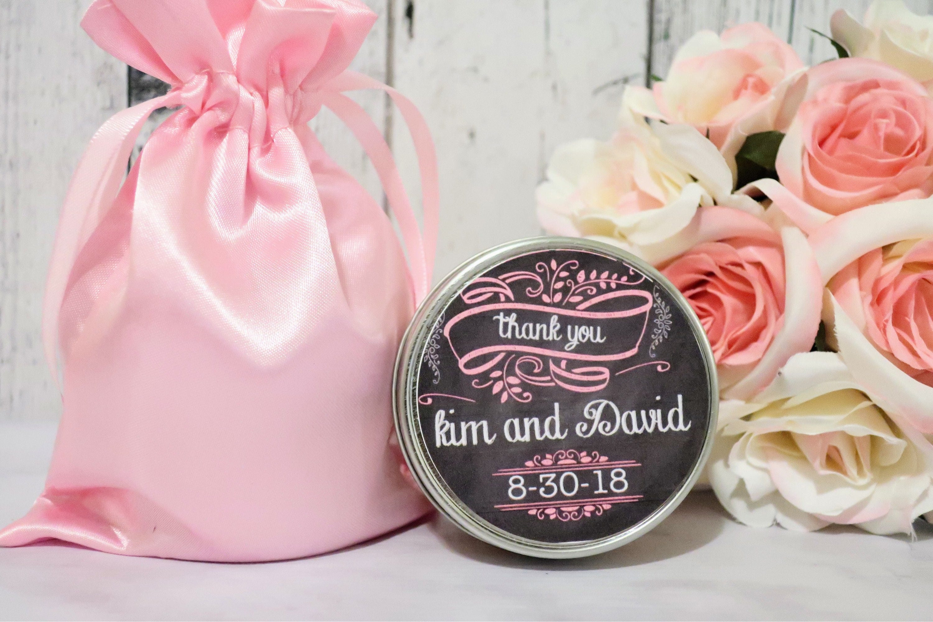 Rustic wedding favors - Rustic Favors - Chalkboard Wedding - Rustic ...