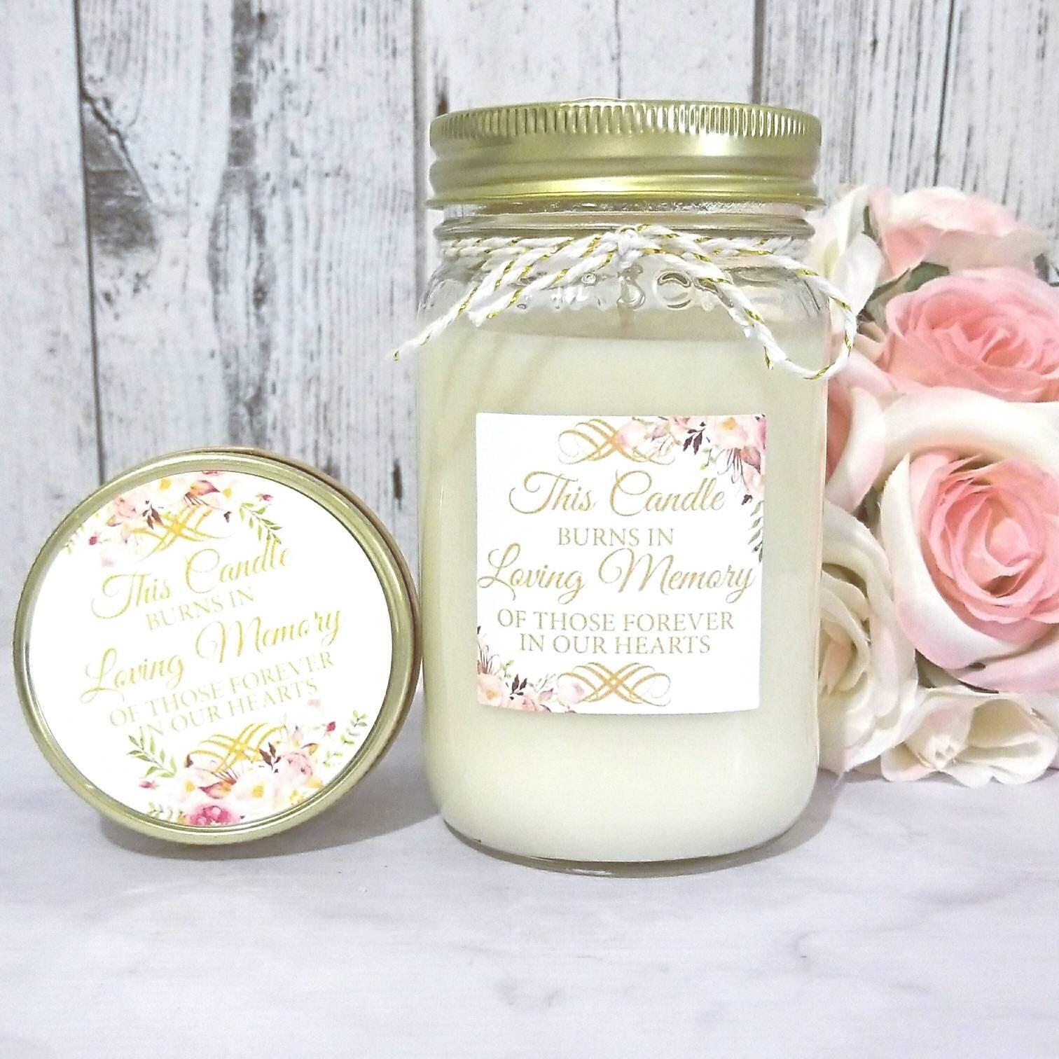 Wedding Memorial Candle - Wedding Memory Candle - Wedding ...