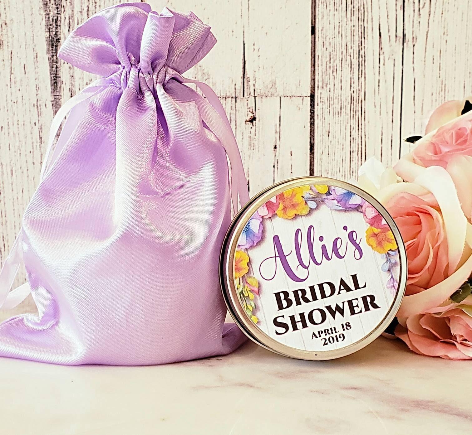 Tropical Bridal Shower Favors - Bridal shower candle favors ...