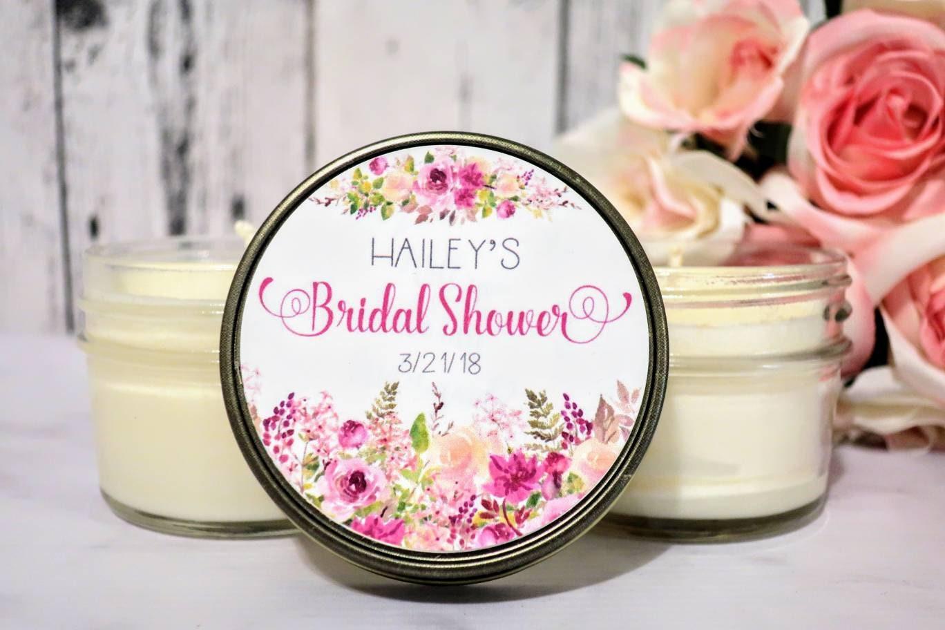bridal shower favors floral bridal shower favors bridal shower candle favors summer bridal shower bridal shower candle set of 12