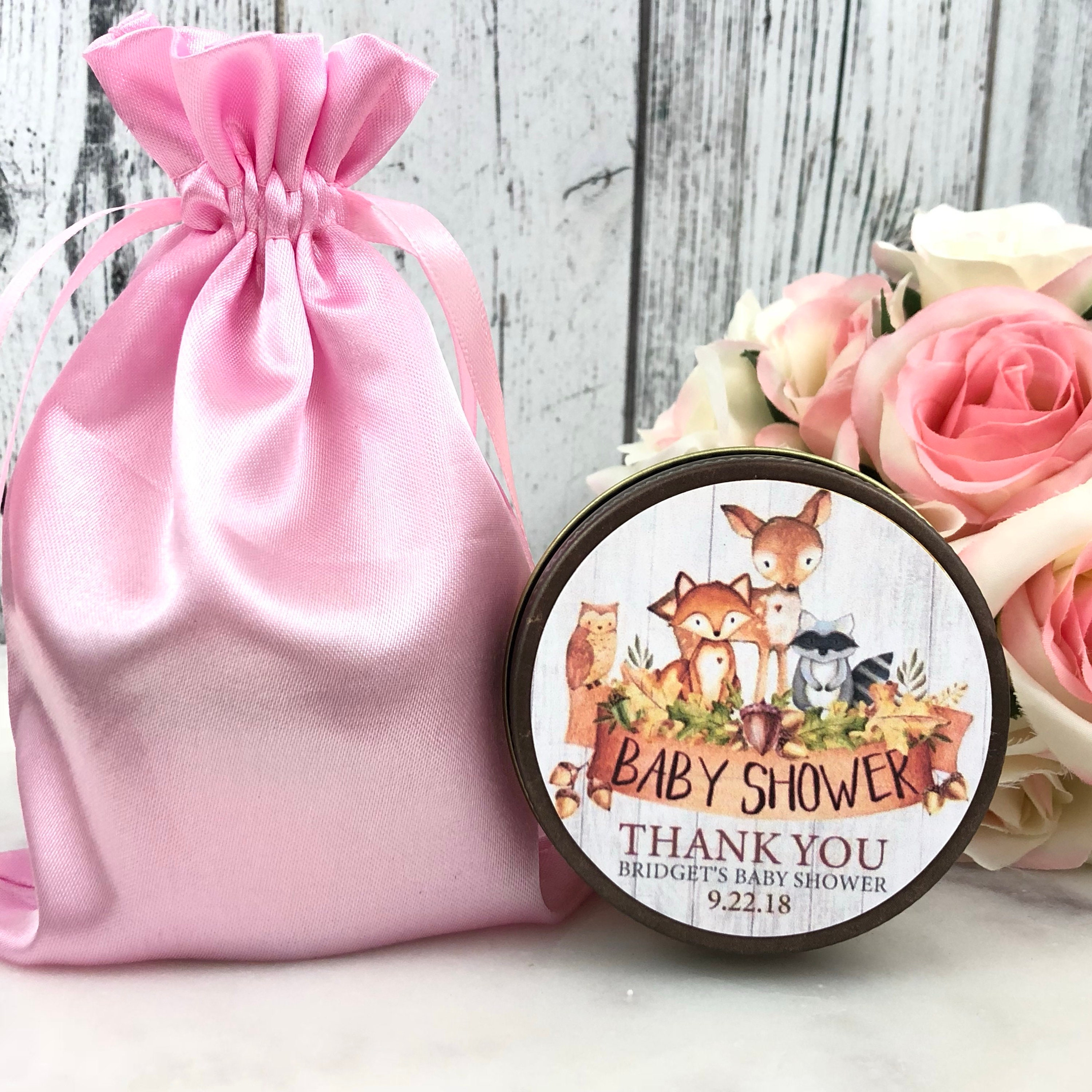 Woodland Baby Shower Favors - Woodland Animals Favors - Forest ...