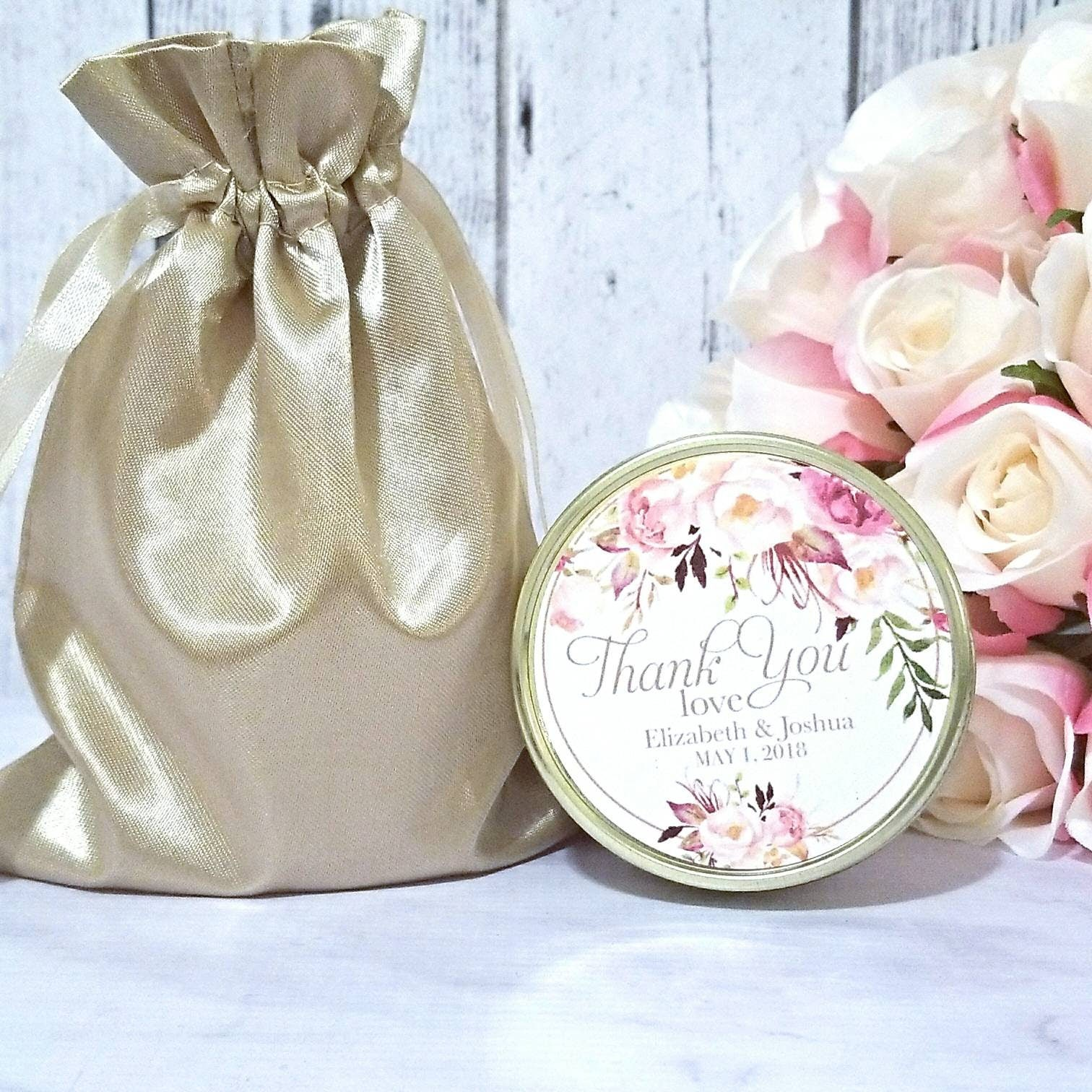 Blush Wedding Favors Candle - Wedding Favors Candles - Blush Wedding ...