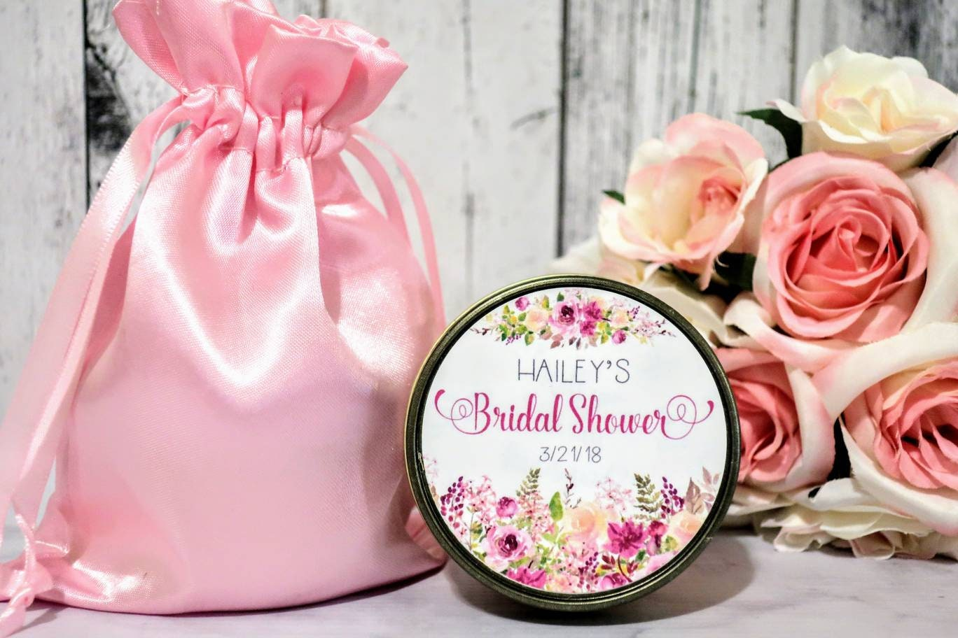 Bridal Shower Favors - Floral Bridal Shower Favors - Bridal Shower ...