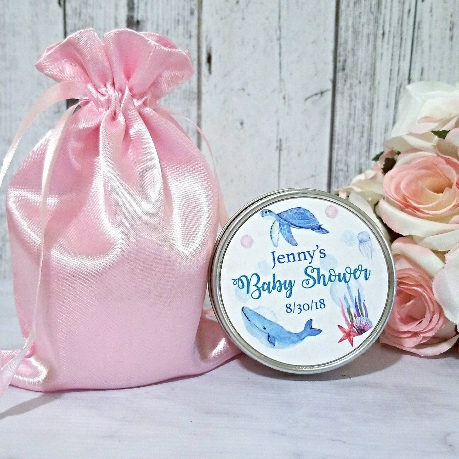 Baby Shower Candle Favors Ocean Friends Baby Shower Favors
