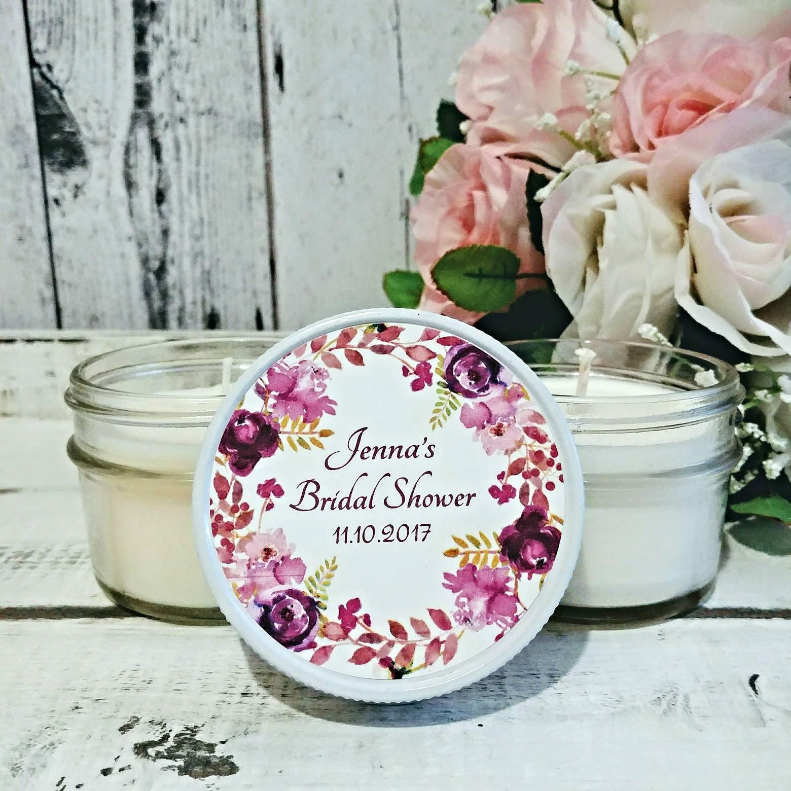 bridal shower favors candles bridal shower candle favors bridal shower party favors soy candles wedding candle favor set of 12