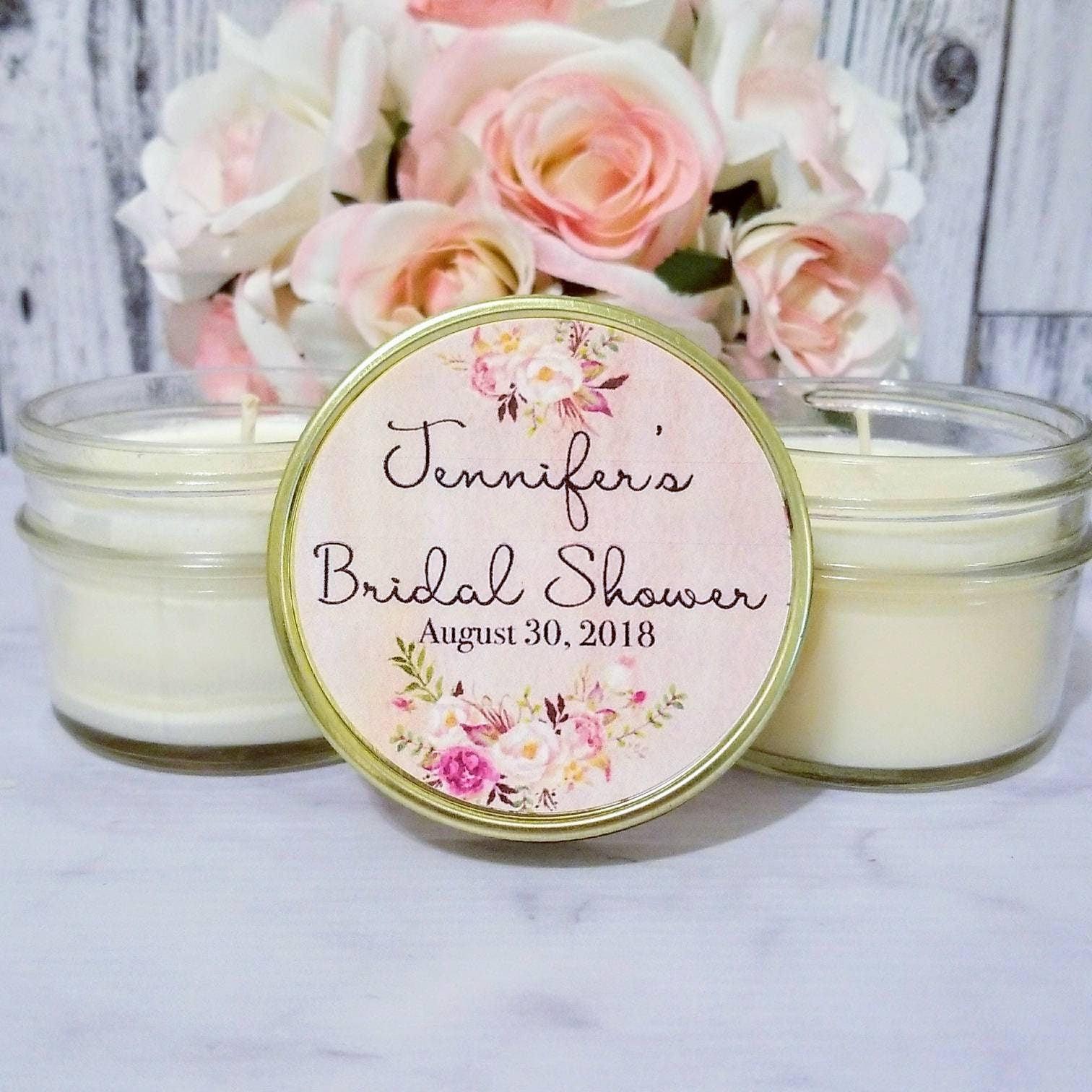 blush bridal shower favors bridal shower candle favors blush wedding bridal shower party favors pink bridal shower favors set of 12