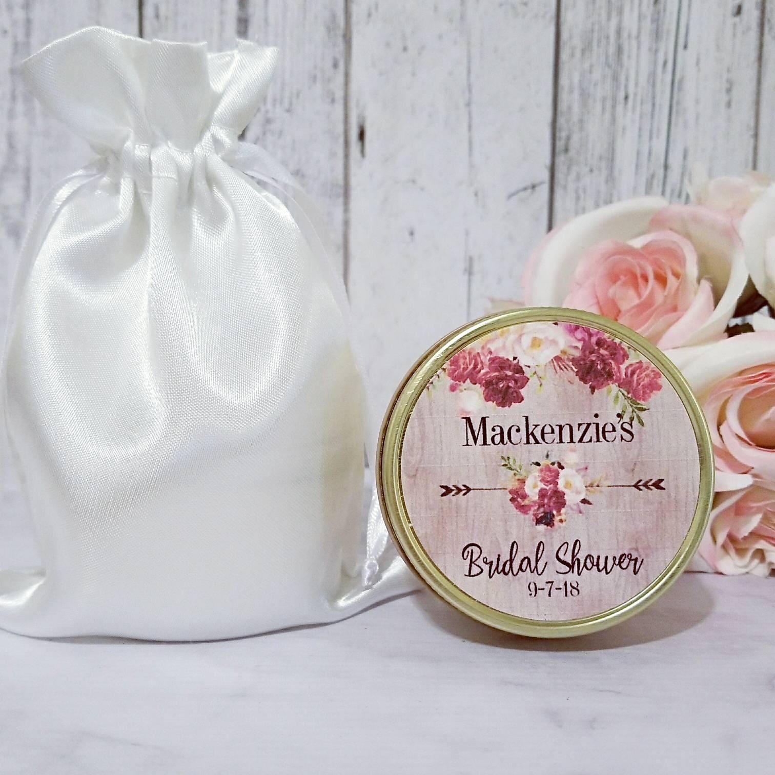 Rustic Bridal Shower Favors Candles - Rustic Bridal Shower - Rustic ...