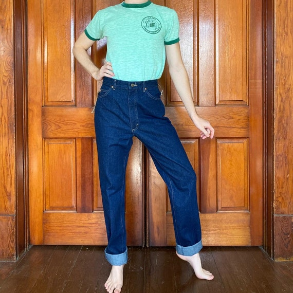 Late 70s high waisted Lee jeans - image 2