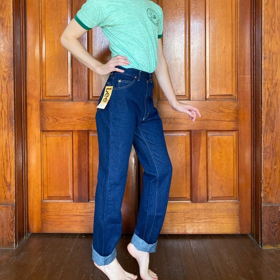 Late 70s high waisted Lee jeans - image 4