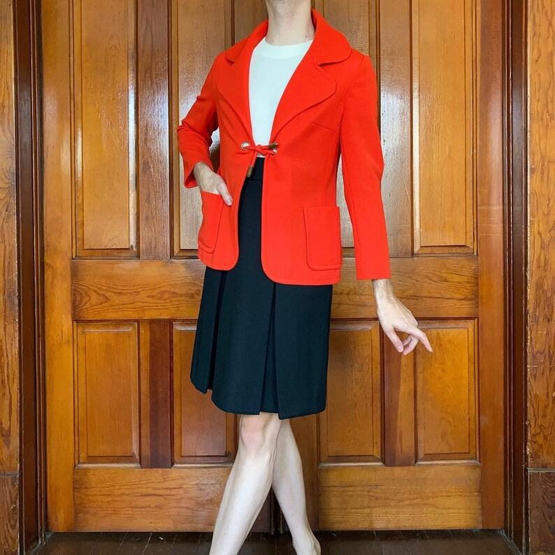 Late 60s  70s Mod dress with jacket