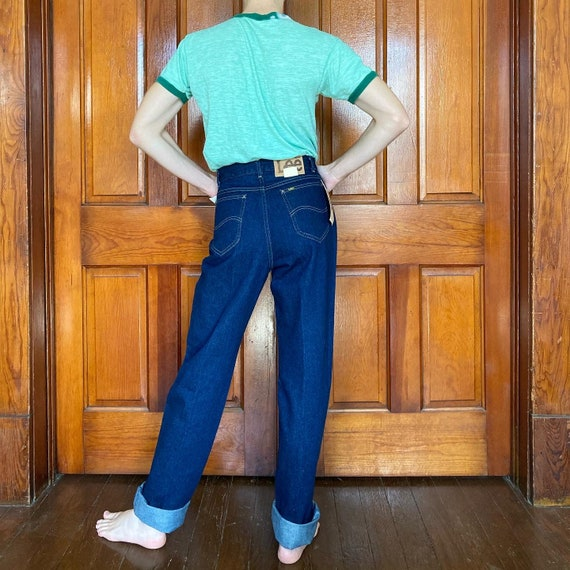 Late 70s high waisted Lee jeans - image 5