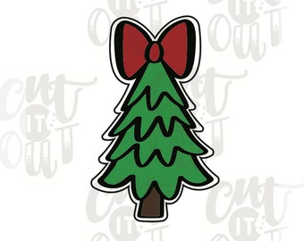 Baum Ausstecher Weihnachts Platzchen Formen Ausschneiden Etsy