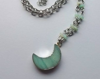The Verdant Moon Necklace! Limited run!