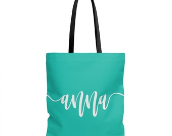 Personalized tote, name tote, gift tote