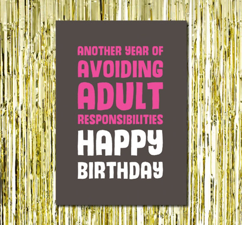 Birthday Card Teenager Friend Funny For