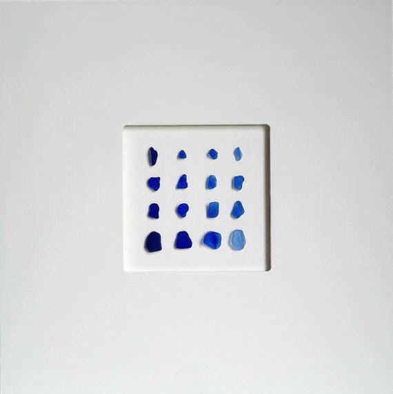 Blue Glass Image
