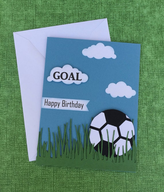 soccer birthday card happy birthday card soccer theme card