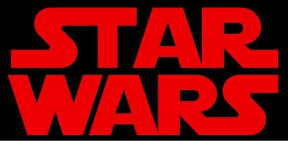 Star Wars Logo Solid Etsy