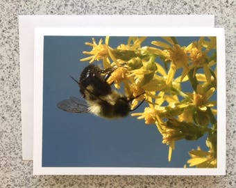 Busy Bees - Handmade Greeting Card