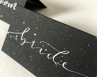 Place cards, wedding place cards, name cards, escort cards, wedding decor, handwritten place cards, calligraphy place cards