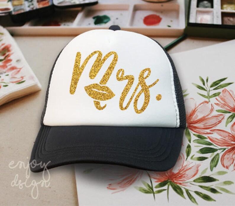 MRS Trucker Hat Couple Cap Hat Screen printing Cap
