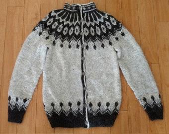 Icelandic sweater - cardigan