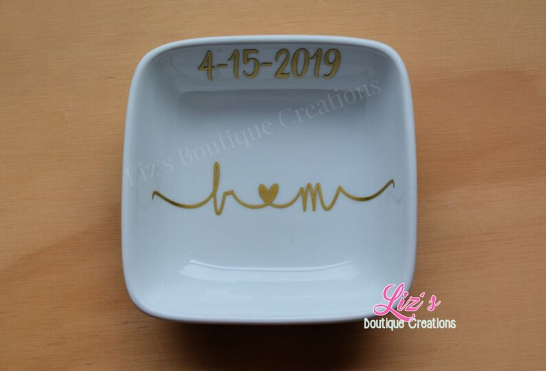 jewelry jewelry dish wedding gift,ring tray custom jewelry dish holder engagement gift Ring dish couple gift personalized ring dish