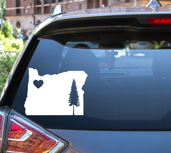 The Decal Store Com By Yadda Yadda Design Co Car Aloha Oregon Hawaiian Islands In The State Of Oregon Vinyl C