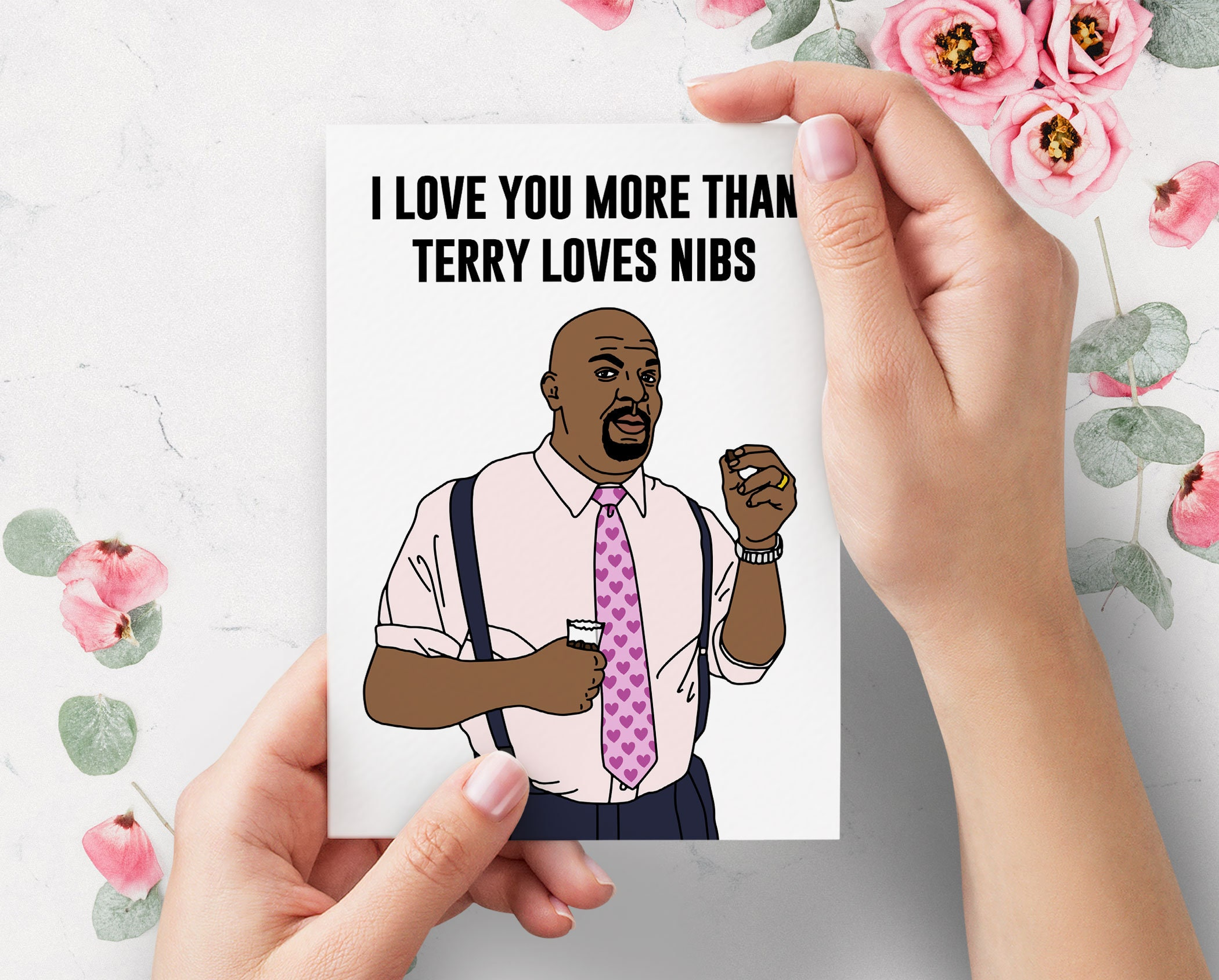 Harambe Funny Valentines Day Card Haram Bae For Boyfriend For Girlfriend For Him For Her Valentine Cute Valentines Card