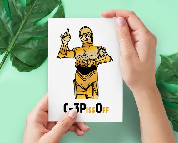 How to make C3PO with legs | Origami Yoda | 458x570