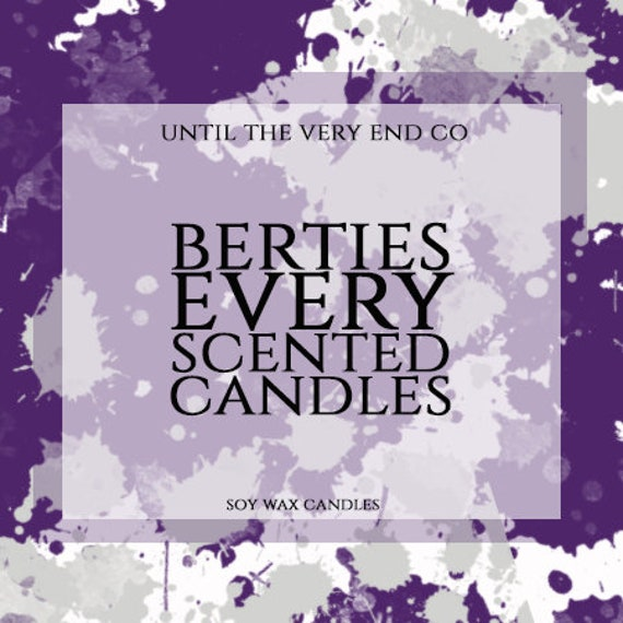 Bertie's Every Scented Candles (tea lights)
