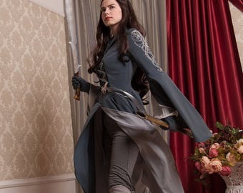 """Lord of the Rings Cosplay  - Arwen """"Chase"""" Costume - Riding dress"""