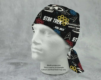 Star Trek Theme Scrub Hat