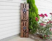 Home Sweet Beach House Front Porch Sign