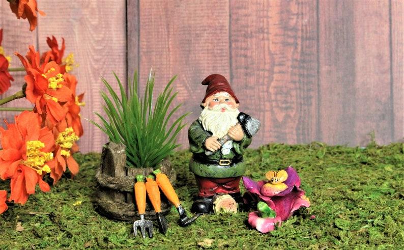5x Miniature Heart Pond Terrarium Figurine DIY Fairy Garden Ornament Decor