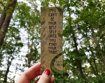 Misty Day AHS Coven Quote Bookmark - You Can't Be Your Best Self