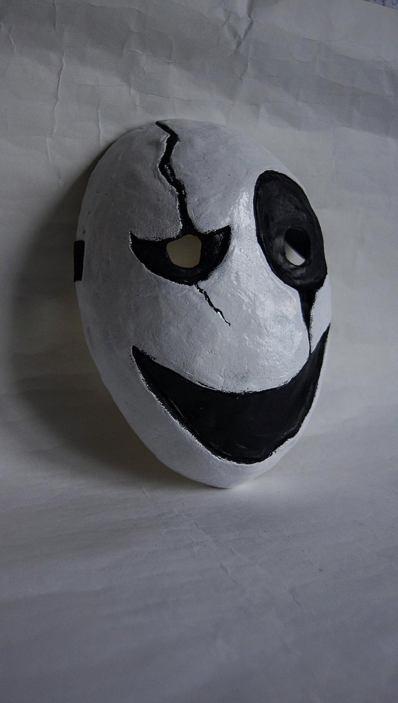 Gaster Mask Undertale video game cosplay Dead by Daylight mask Killer Horror Nightmare survival horror game Killer mask wearable halloween