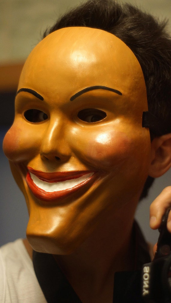 The Purge Mask Grin Halloween Film Movie Horror Male