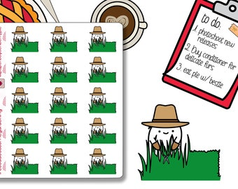 Cosa does some Gardening Planner Stickers