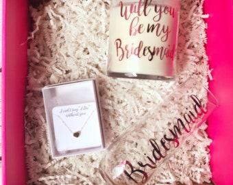 Bridesmaid proposal box / bridesmaid proposal  / bridesmaid / maid of honor proposal / maid of honor proposal box